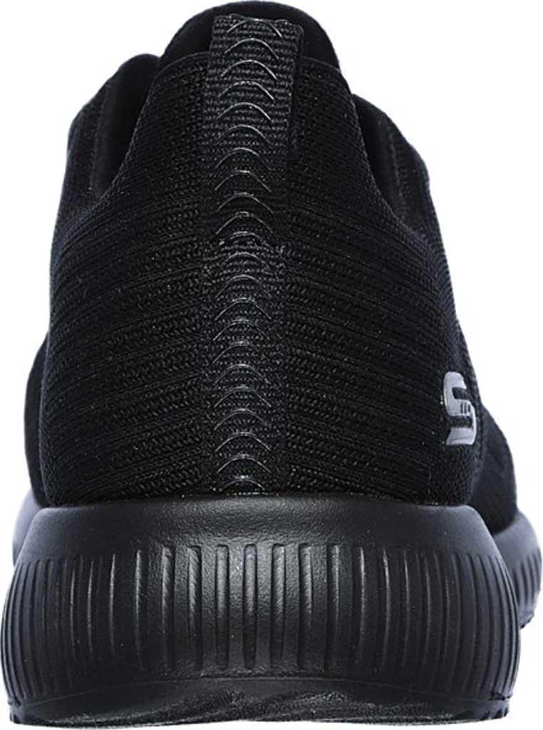 Women's Skechers BOBS Sport Squad Tough Talk Sneaker, Black/Black, large, image 3