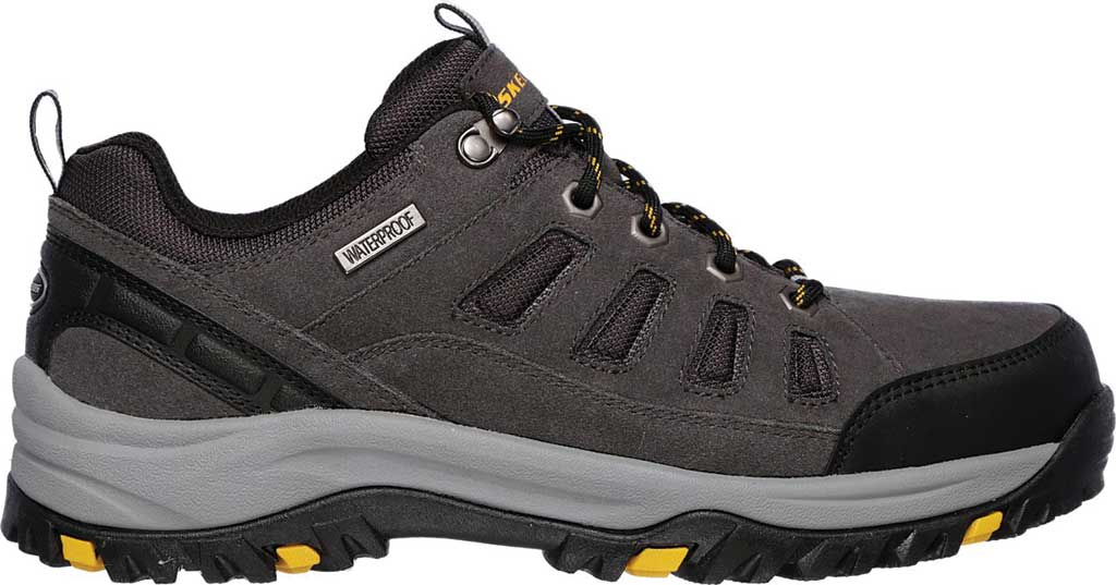 Men's Skechers Relaxed Fit Relment Sonego Hiking Shoe, Gray, large, image 2