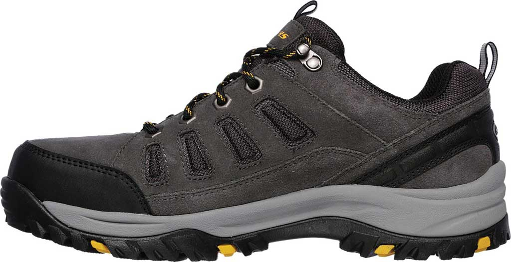 Men's Skechers Relaxed Fit Relment Sonego Hiking Shoe, Gray, large, image 3