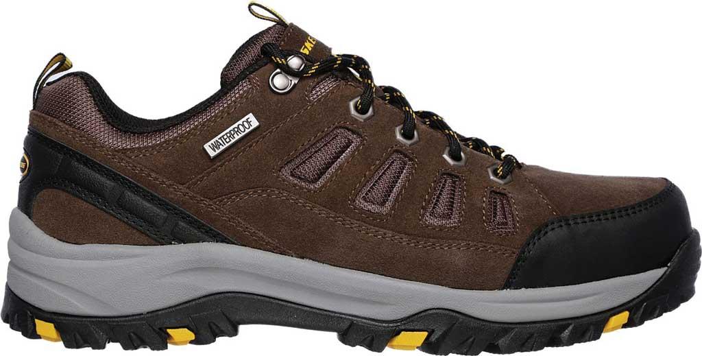 Men's Skechers Relaxed Fit Relment Sonego Hiking Shoe, Khaki, large, image 2