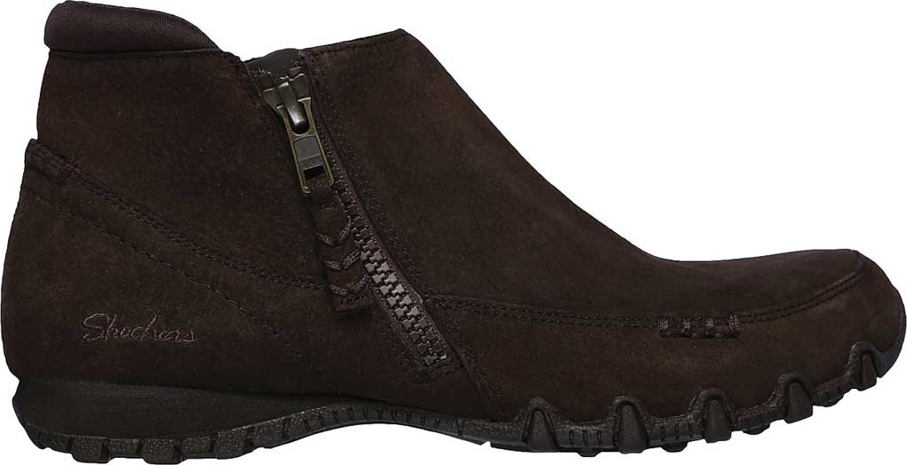 Women's Skechers Relaxed Fit Bikers Zippiest Ankle Boot, , large, image 2
