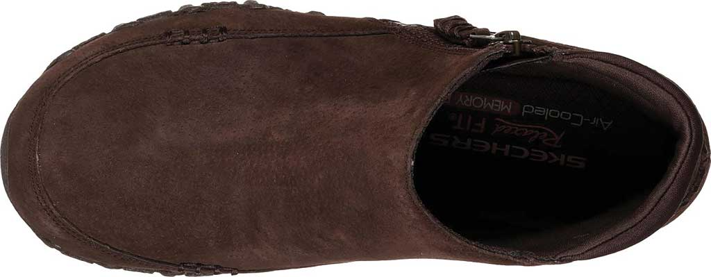 Women's Skechers Relaxed Fit Bikers Zippiest Ankle Boot, , large, image 5