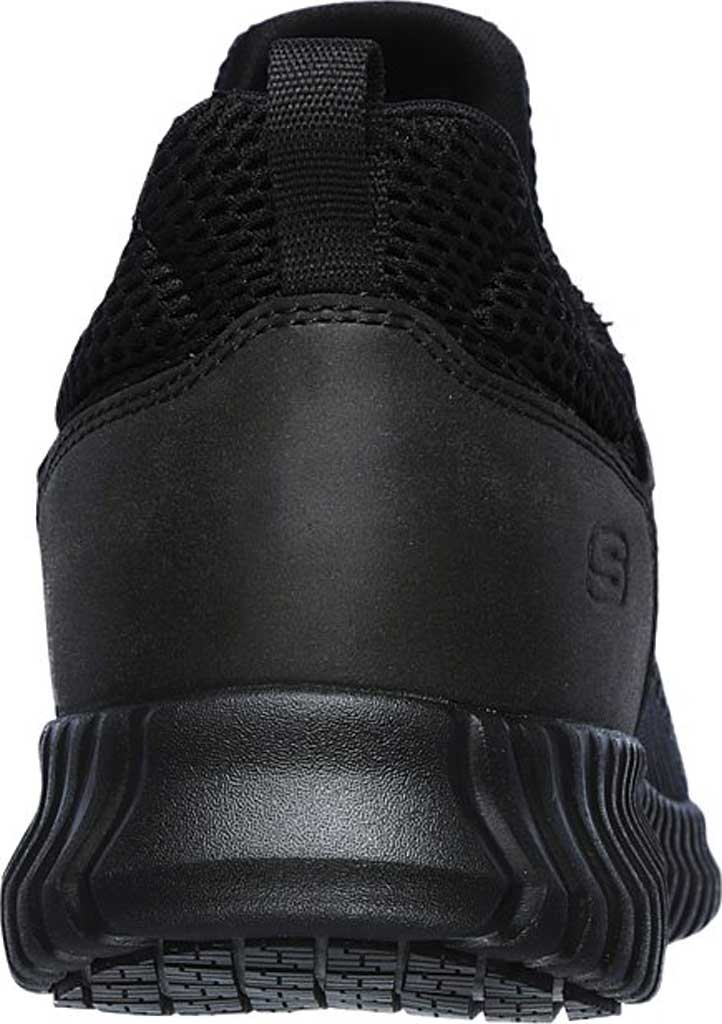 Men's Skechers Work Relaxed Fit Cessnock Slip Resistant Shoe, Black, large, image 4