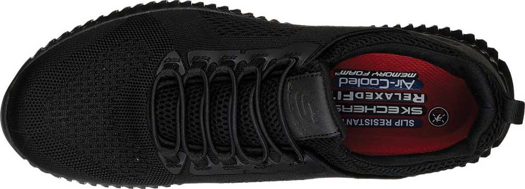 Men's Skechers Work Relaxed Fit Cessnock Slip Resistant Shoe, Black, large, image 5