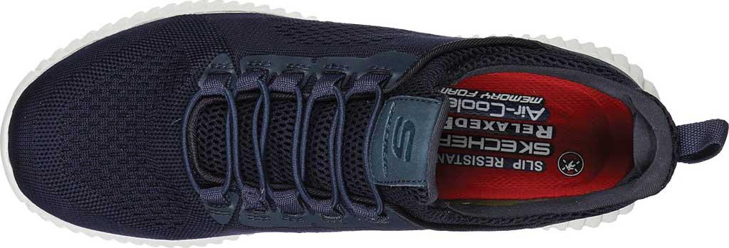 Men's Skechers Work Relaxed Fit Cessnock Slip Resistant Shoe, Navy, large, image 4