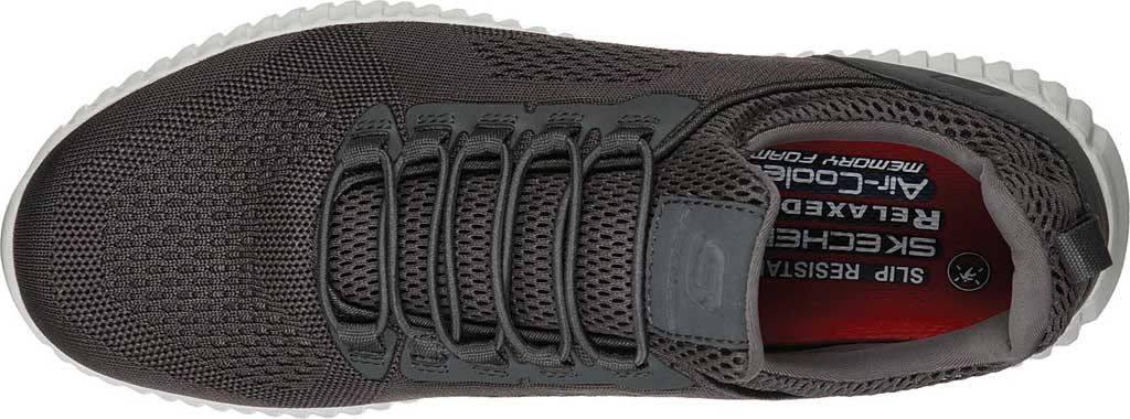 Men's Skechers Work Relaxed Fit Cessnock Slip Resistant Shoe, Charcoal, large, image 4