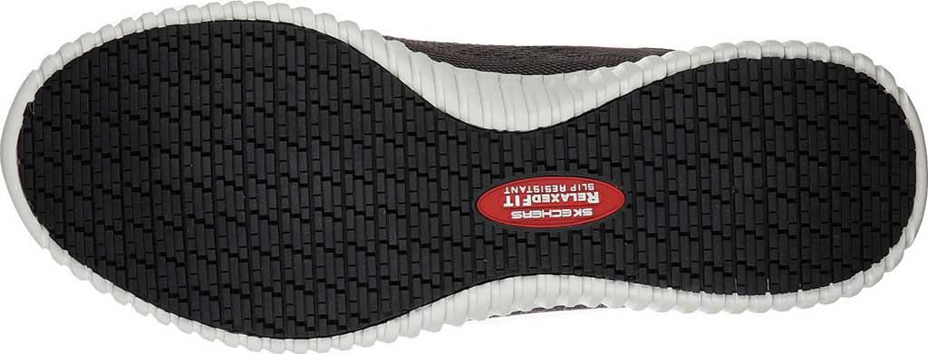 Men's Skechers Work Relaxed Fit Cessnock Slip Resistant Shoe, Charcoal, large, image 5