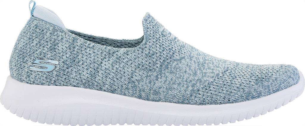 Women's Skechers Ultra Flex Harmonious Slip On Sneaker, Blue, large, image 2