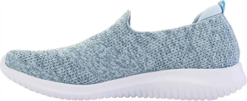 Women's Skechers Ultra Flex Harmonious Slip On Sneaker, Blue, large, image 3