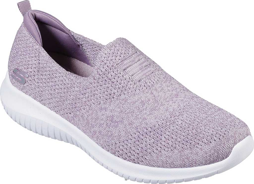 Women's Skechers Ultra Flex Harmonious Slip On Sneaker, Lavender, large, image 1