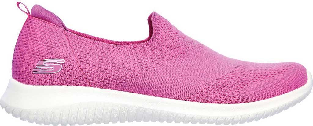 Women's Skechers Ultra Flex Harmonious Slip On Sneaker, Fuchsia, large, image 2