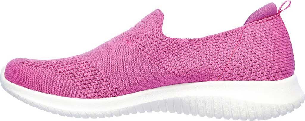 Women's Skechers Ultra Flex Harmonious Slip On Sneaker, Fuchsia, large, image 3