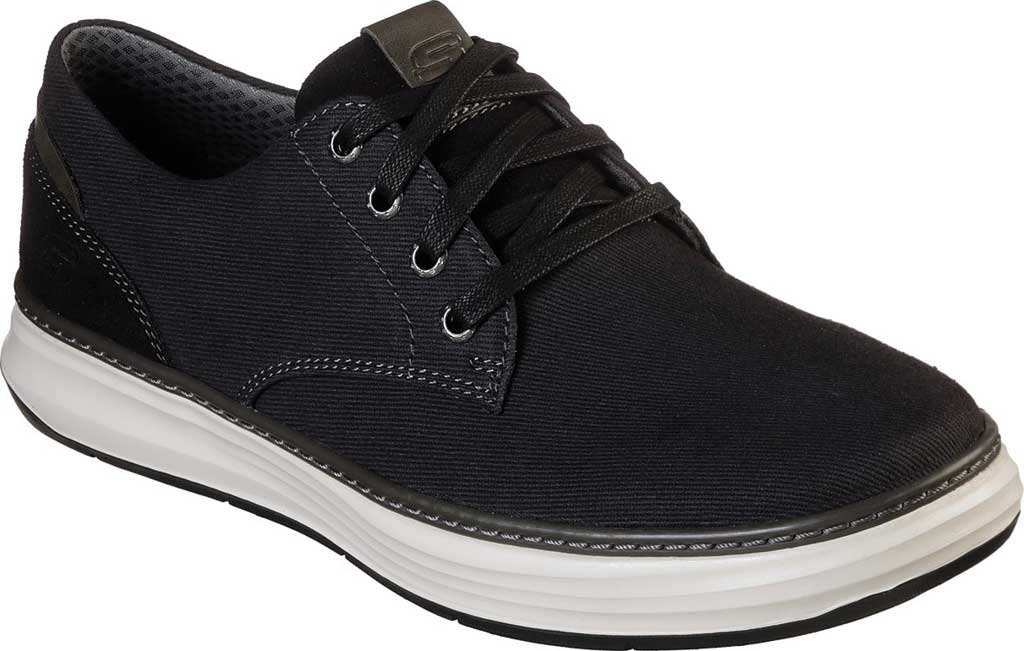 Men's Skechers Moreno Ederson Sneaker, Black, large, image 1