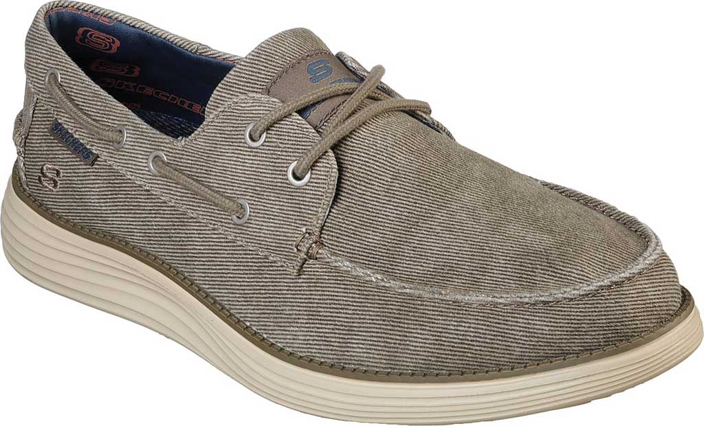Men's Skechers Status 2.0 Lorano Boat Shoe, , large, image 1
