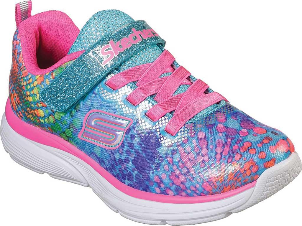 Girls' Skechers Wavy Lites Sneaker, Multi, large, image 1