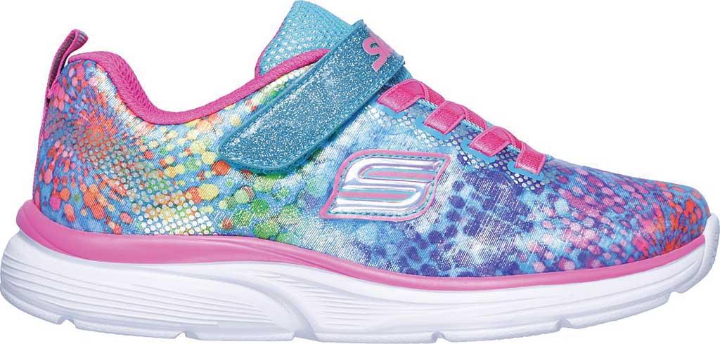 Girls' Skechers Wavy Lites Sneaker, Multi, large, image 2