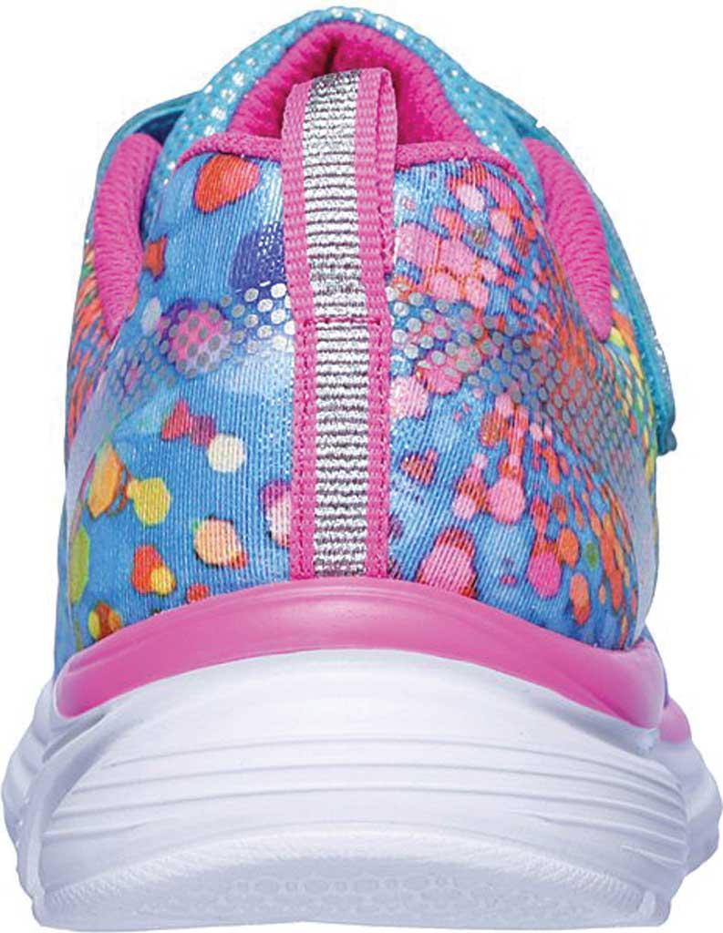 Girls' Skechers Wavy Lites Sneaker, Multi, large, image 4