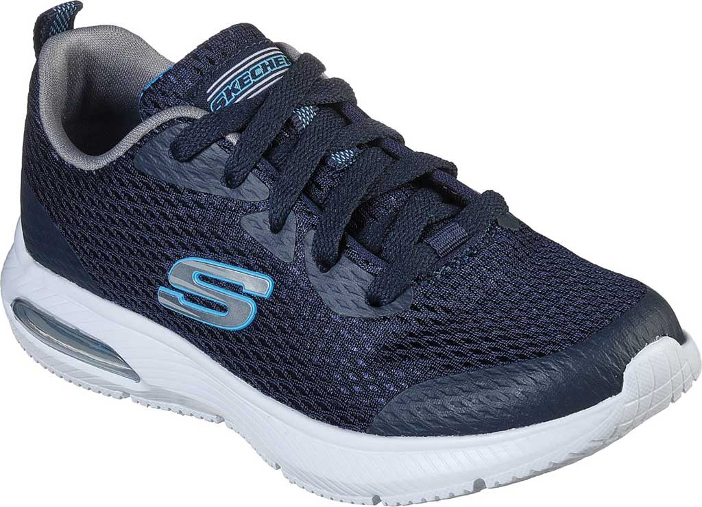 Boys' Skechers Dyna-Air Quick Pulse Sneaker, Navy/Blue, large, image 1