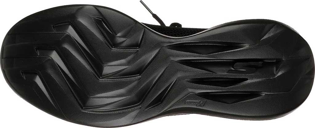 Men's Skechers GOrun Fast Valor Running Shoe, Black/Black, large, image 6