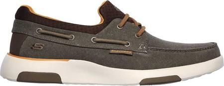 Men's Skechers Bellinger Garmo Boat Shoe, Brown, large, image 2