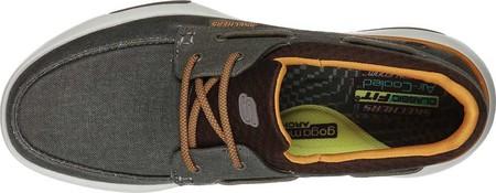 Men's Skechers Bellinger Garmo Boat Shoe, Brown, large, image 4