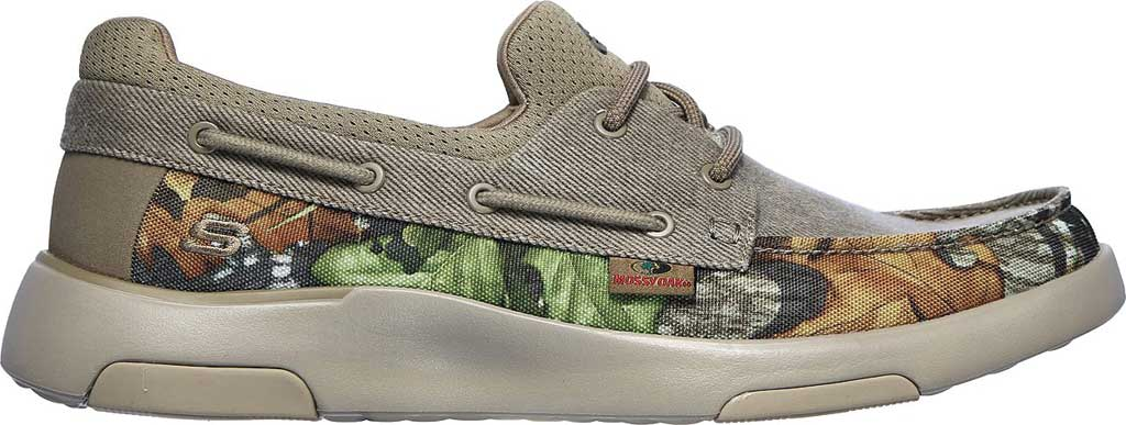 Men's Skechers Bellinger Garmo Boat Shoe, Camouflage, large, image 2