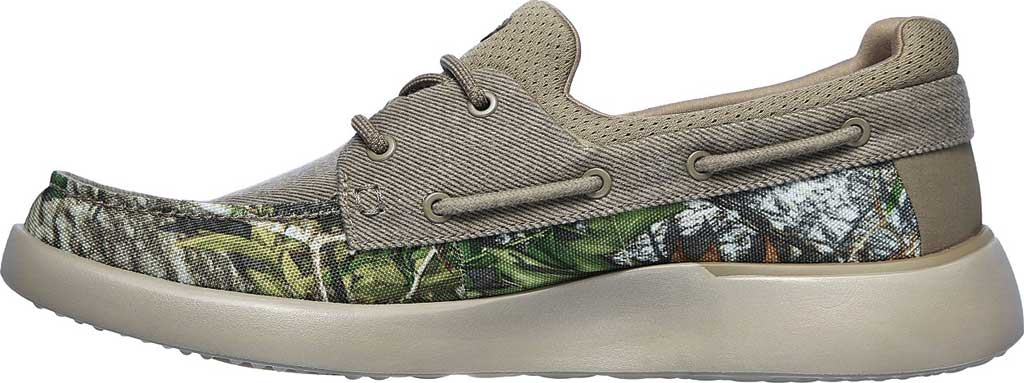 Men's Skechers Bellinger Garmo Boat Shoe, Camouflage, large, image 3