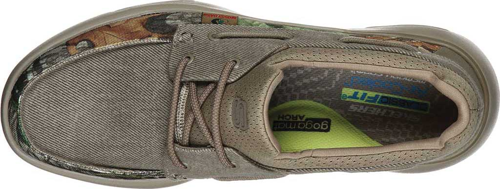 Men's Skechers Bellinger Garmo Boat Shoe, Camouflage, large, image 4