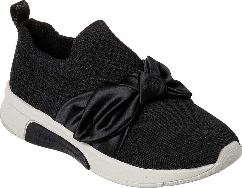 Girls' Skechers Modern Jogger Debbie Sneaker, Black, large, image 1