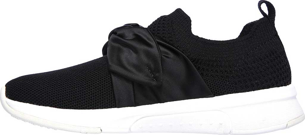 Girls' Skechers Modern Jogger Debbie Sneaker, Black, large, image 3