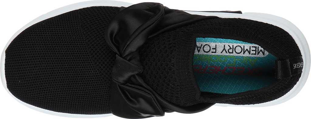 Girls' Skechers Modern Jogger Debbie Sneaker, Black, large, image 4