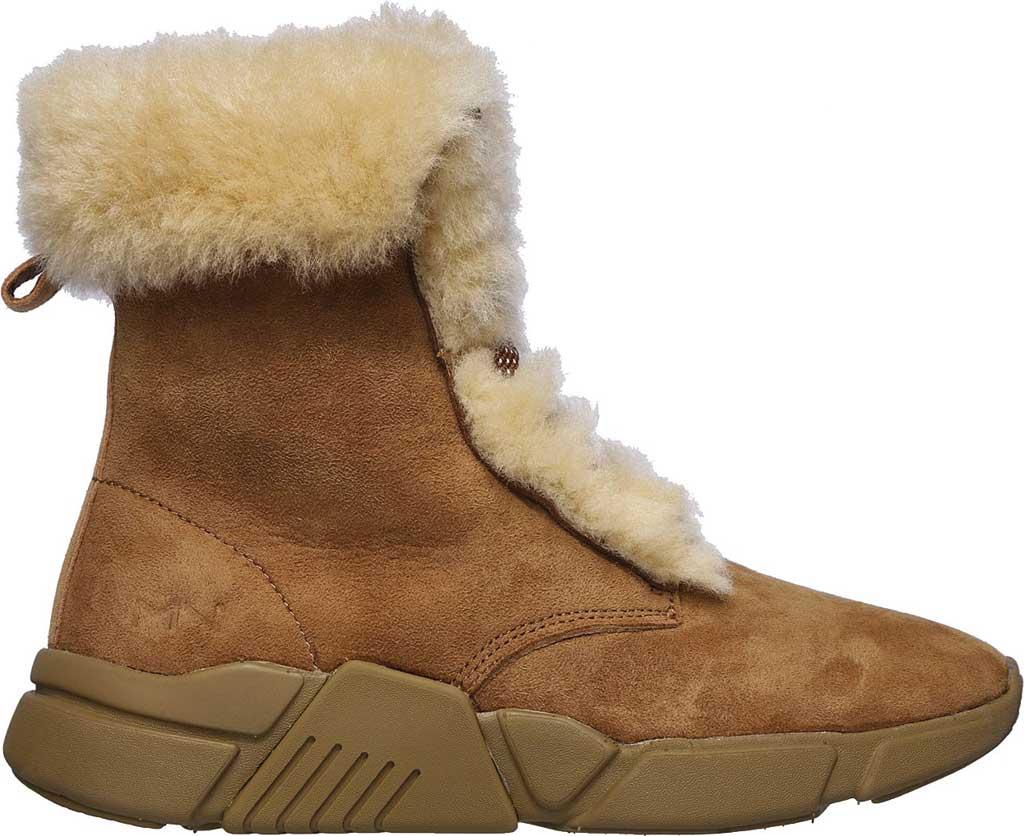 Women's Mark Nason Los Angeles Block Apres Boot, Chestnut, large, image 2
