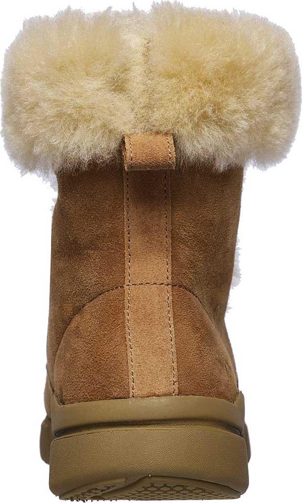 Women's Mark Nason Los Angeles Block Apres Boot, Chestnut, large, image 4
