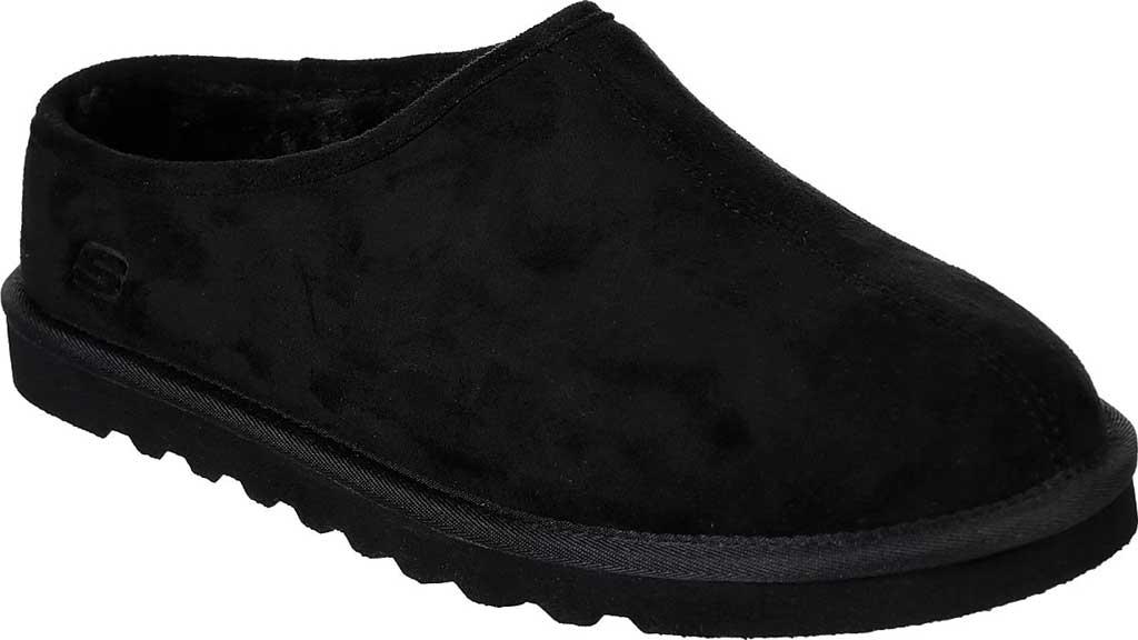 Men's Skechers Relaxed Fit Renten Lemato Clog Slipper, Black, large, image 1