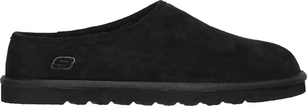 Men's Skechers Relaxed Fit Renten Lemato Clog Slipper, Black, large, image 2