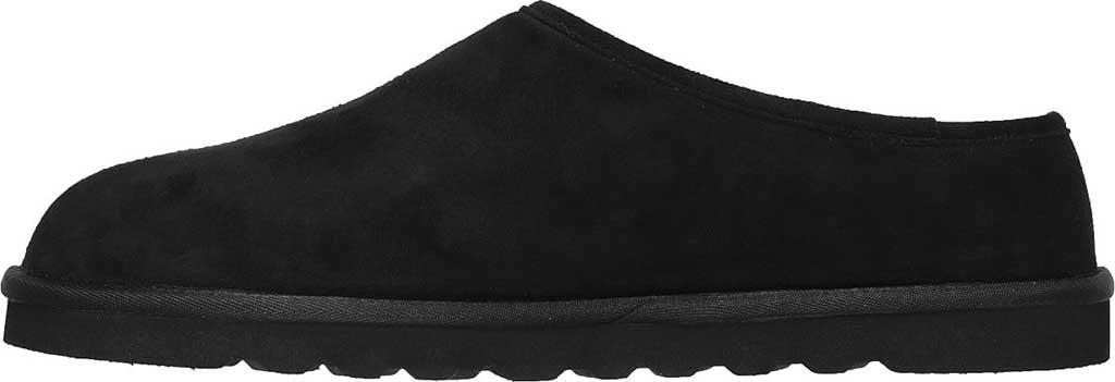 Men's Skechers Relaxed Fit Renten Lemato Clog Slipper, Black, large, image 3
