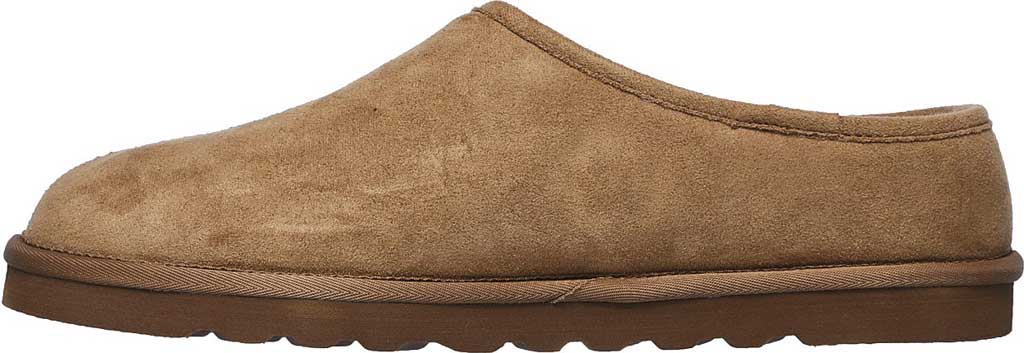 Men's Skechers Relaxed Fit Renten Lemato Clog Slipper, Tan, large, image 3