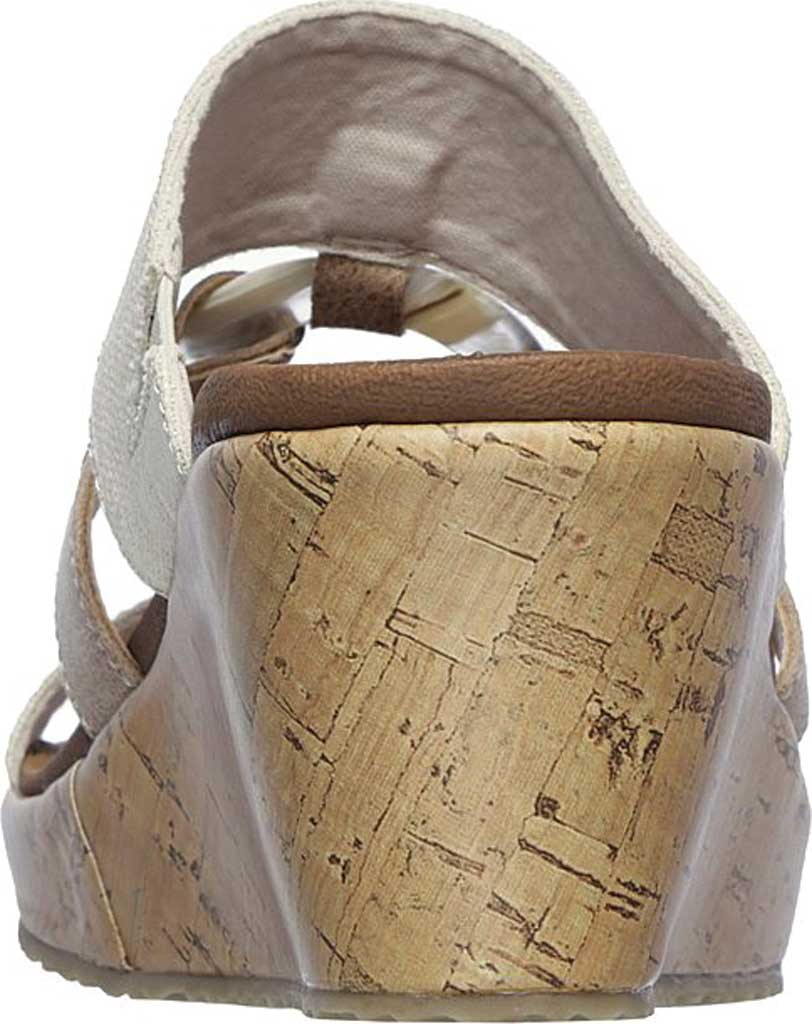 Women's Skechers Beverlee Sail Away Wedge Sandal, Natural, large, image 4