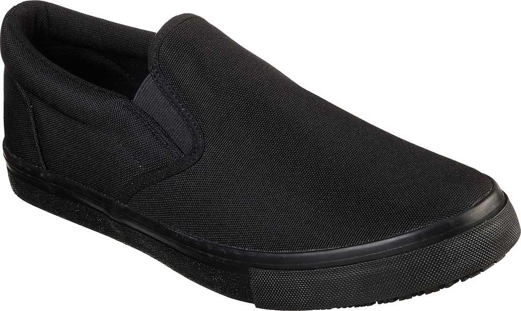 Men's Skechers Work Relaxed Fit Sudler Dedham SR Slip-On Shoe, Black, large, image 1