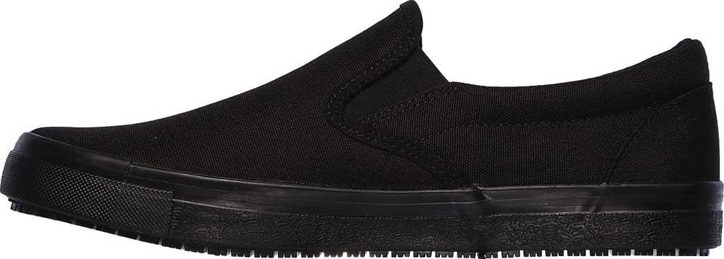 Men's Skechers Work Relaxed Fit Sudler Dedham SR Slip-On Shoe, Black, large, image 3