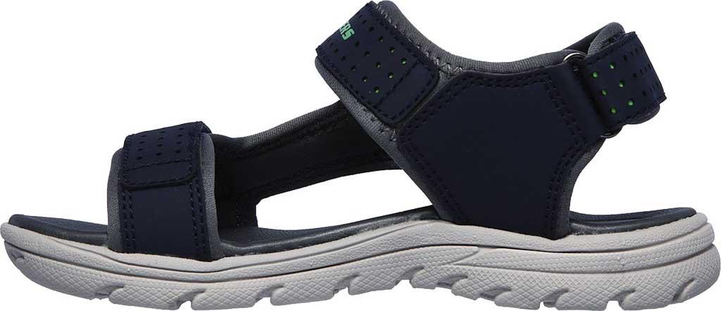 Boys' Skechers Supreme River Blast Sport Sandal, Navy, large, image 3