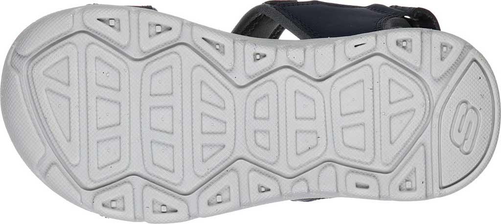 Boys' Skechers Supreme River Blast Sport Sandal, Navy, large, image 5