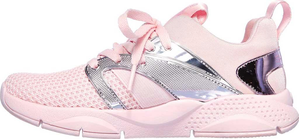 Children's Skechers Shine Status Metallic Sneaker, Light Pink, large, image 3