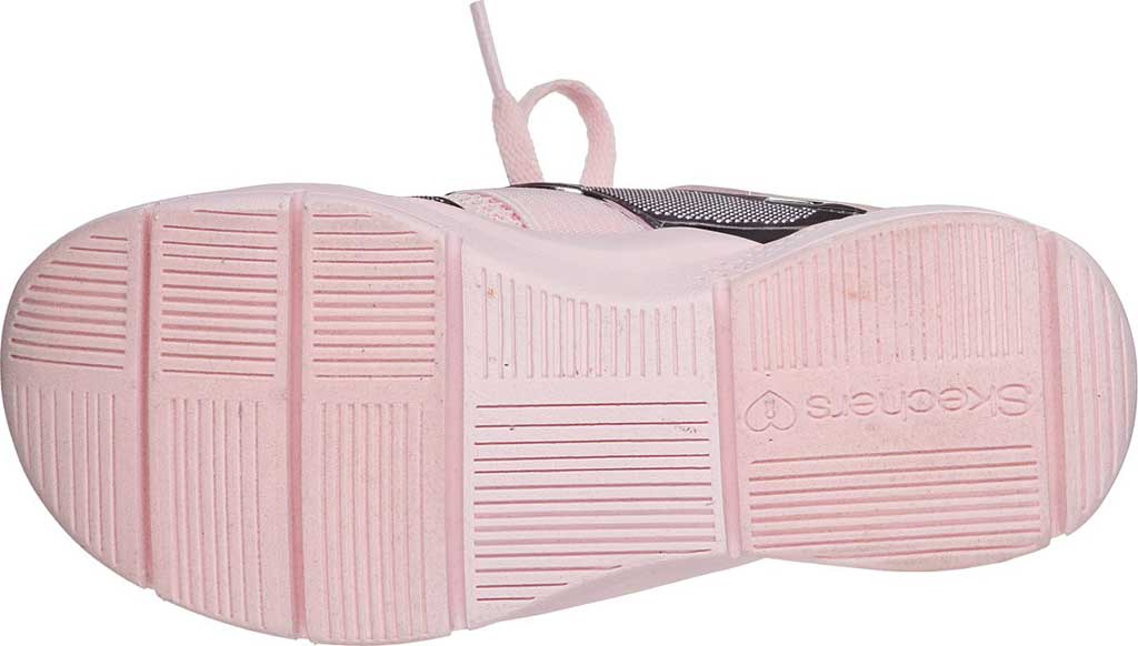 Children's Skechers Shine Status Metallic Sneaker, Light Pink, large, image 5