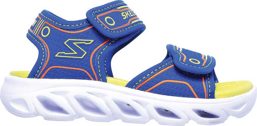 Infant Boys' Skechers Hypno-Flash 3.0 Sport Sandal, Blue/Lime, large, image 2