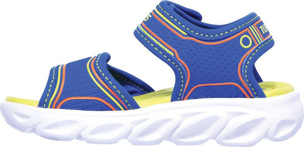 Infant Boys' Skechers Hypno-Flash 3.0 Sport Sandal, Blue/Lime, large, image 3