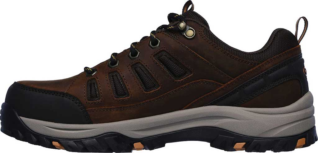 Men's Skechers Relaxed Fit Relment Semego Hiking Shoe, Brown, large, image 3