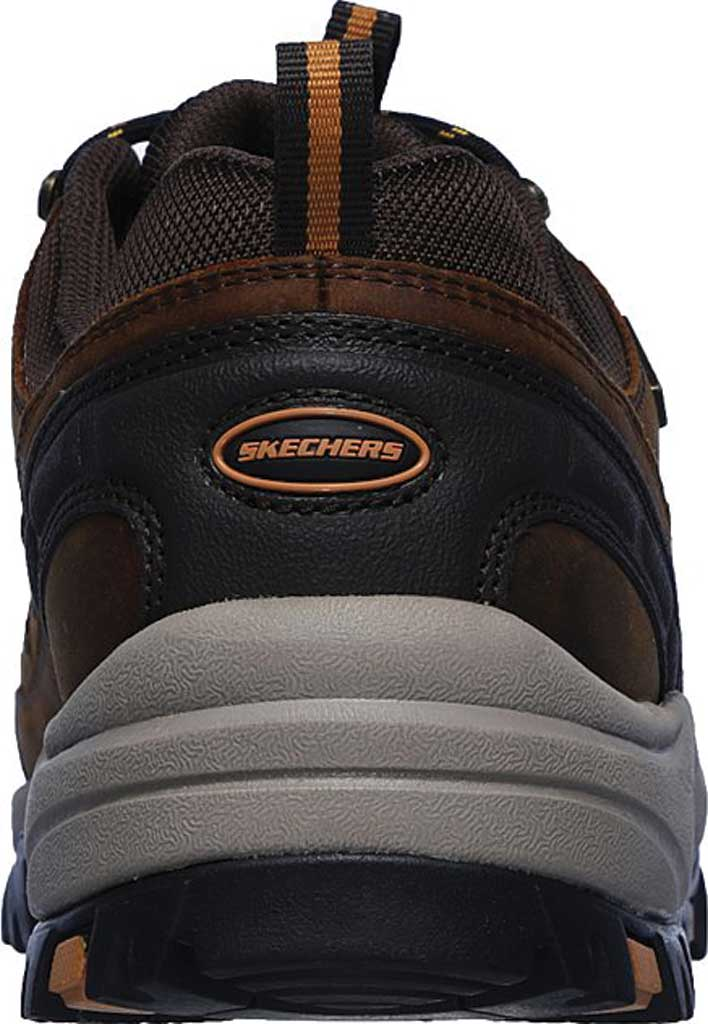 Men's Skechers Relaxed Fit Relment Semego Hiking Shoe, Brown, large, image 4