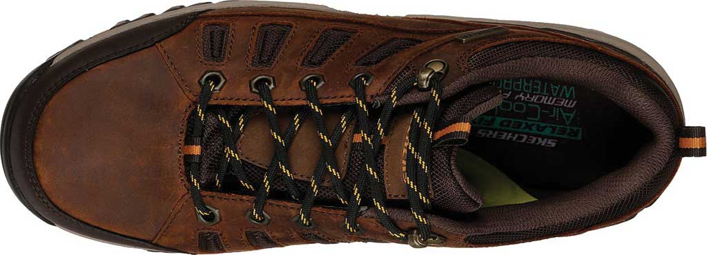 Men's Skechers Relaxed Fit Relment Semego Hiking Shoe, Brown, large, image 5