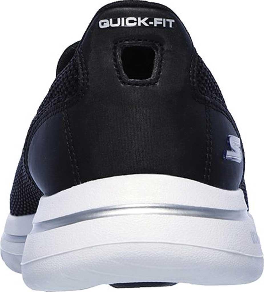 Women's Skechers GOwalk 5 Walking Shoe, Black/White, large, image 4